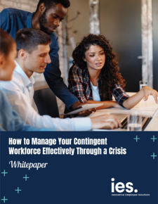 IES Whitepaper - How to manage your contingent workforce though a crisis